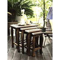 Combo 4 bàn trang trí (Table set of 4)