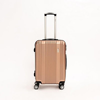 Vali kéo du lịch SUNNY TONAGO size 24 nhựa dẻo ABS, Chống va đập, khóa số an toàn