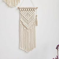 rèm macrame handmade trang trí treo tường