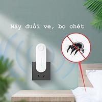 Máy Đuổi Muỗi Bằng Sóng Siêu Âm - Máy Đuổi Muỗi Điện Tử - Máy Đuổi Côn Trùng Tiện Lợi - K1107