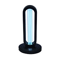 A C 220 V 38 W 254NM UV+ Ozone Timer Sterilizing Light Sterilization Lamp 3 Levels Adjustable T-ime Setting Timing