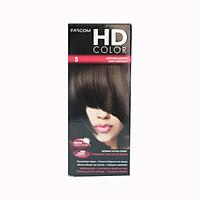 Màu nhuộm phủ bạc nâu đen Farcom HD Color 5.0 Light Chestnut (140ml)
