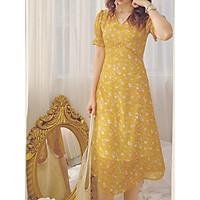Đầm Vàng hoa nhí Miiri Dress Gem Clothing SP060329