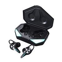 K5 TWS Bluetooth Earphones Gaming Headset 45ms Low latency 9D Hifi Stereo Wireless Headphone LED Light Noise Cancelling
