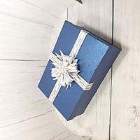 Hộp quà tặng sang trọng 30x20x10cm Tặng thiệp + Giấy rơm – HQ31
