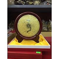 Mặt  Đĩa Đồng Quà Tặng 17cm