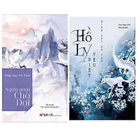 Combo Truyện Ngôn Tình: Ngàn Năm Chờ Đợi (Tái Bản Năm 2019) + Hồ Ly Biết Yêu - (Diệp Lạc Vô Tâm /  Tặng Kèm Bookmark Happylife)