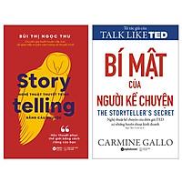 Combo Sách : Storytelling – Nghệ Thuật Thuyết Trình Bằng Câu Chuyện + Bí Mật Của Người Kể Chuyện - Nghệ Thuật Kể Chuyện Của Diễn Giả TED Và Những Huyền Thoại Kinh Doanh