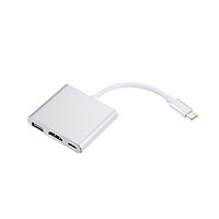 Bộ Chuyển Đổi Dongle Dock USB 3.1 Loại C Sang USB 3.0 / HD / USB 3 Trong 1 Loại C Hub Cho Macbook Pro, Dell XPS