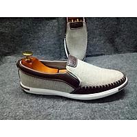 Giày lười nam - Giày nam vải bố cao cấp