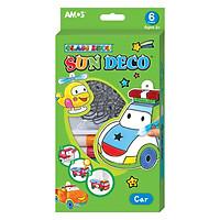 Màu Vẽ Trang Trí Trên Kính Hình Xe Hơi Sun Deco Car AMOS ASD-C (6 Màu)