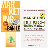 Combo Marketing Cho Bán Lẻ và  Marketing Du Kích Trong 30 Ngày ( Tặng Kèm Sổ Tay )