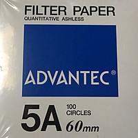 Giấy lọc định lượng số 5A, đường kính 60mm