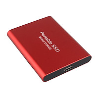 500GB Mobile Hard Disk Type-C USB3.1 Portable SSD Shockproof Aluminum Alloy Solid State Drive 540MB/s Transmission Speed
