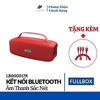 Loa bluetooth Lanith Booms Bass L17, Có Quai Xách – Tặng dây cáp sạc 3 đầu - Hỗ trợ thẻ nhớ, Bluetooth,audio 3.5mm – LB000017.CAP0001 - Hàng chính hãng