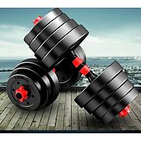 Tạ tập tay đẩy kết hợp,  tạ nam nữ tập gym tập thon tay Giá tốt Hàng Chuẩn(Chọn Lực Nặng Của Tạ 20kg ,30kg, 40kg Tùy chọn)