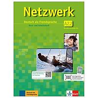 Netzwerk A2.2: Deutsch als Fremdsprache. Kurs- und Arbeitsbuch mit DVD und 2 Audio-CDs