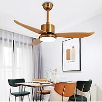 Quạt trần đèn trang trí 3 cánh bền đẹp QAT023 – Tiết kiệm năng lượng tối ưu