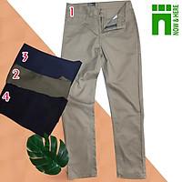 Quần kaki nam, form trẻ trung như kiểu jean, size đến 80kg, chất dày dặn - NH Shop