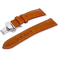 Dây đồng hồ da bò thật - gắn sẵn khóa bướm chống gẫy dây