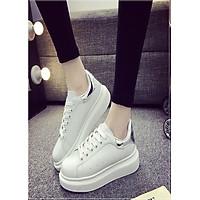 Giày Sneaker nữ thể thao siêu nhẹ độn đế gót...