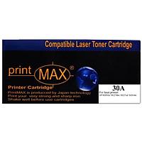 Hộp mực in Laser Đen PrintMAX dành cho máy HP 30A– Hàng Chính Hãng