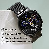 Đồng Hồ Thông Minh Nam Nữ Karen M DT96 Smart Watch Thời Trang Kết Nối Bluetooth Theo Dõi Sức khỏe Vận Động Thể Thao  - Hàng Chính Hãng