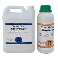 Bộ 4Kg Epoxy Resin Trong Suốt Loại Tốt LRAB312