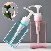 Travel Soap Dispenser Shampoo Dispenser Pressed Portable Emulsion Bottles Storage Box Hand Sanitzer Holder Bathroom Accessories