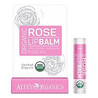 Son Dưỡng Môi Hoa Hồng Hữu Cơ - Alteya Organic Rose Lip Balm (5g)