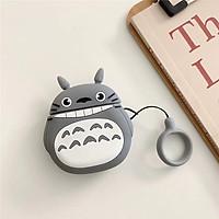 Airpods case, Ốp nhựa dẻo bảo vệ dành cho Airpods 1/2 - Mèo Totoro - Hàng Chính Hãng