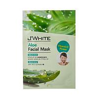 Đắp mặt nạ dưỡng trắng, kháng viêm, tái tạo da Tinh Chất Lô hội JWhite 25g (8 miếng)