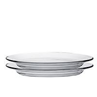 Bộ 2 dĩa oval thủy tinh chịu lực Duralex Pháp Lys 26cm