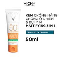Bộ Kem Chống Nắng Chống Ô Nhiễm Và Bụi Mịn VICHY Capital Soleil Mattifying