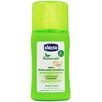 Xịt đa năng xua muỗi Chicco 100ml xua muỗi an toàn và hiệu quả bằng mùi hương ( Tặng 50 tờ khăn khô đa năng )