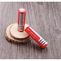 Combo 2 Pin lithium dung lượng cao sạc lại 18650 3.7V đỏ 6800mAh - Hàng nhập khẩu