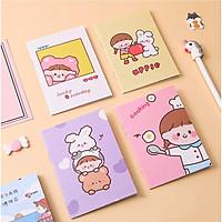 Sổ tay mini có nhiều mẫu bìa xinh rẻ 32 trang được chọn hình cute