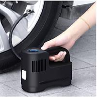Bơm lốp KO DÂY Suitu, bơm ô tô, bơm xe máy, bơm xe đạp Suitu, pin sạc siêu khỏe 6000Mah,- SẠC USB tiện lợi
