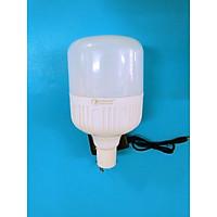 Bóng đèn led  trụ tích điện 30w kèm dây sạc điện