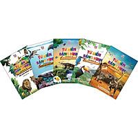 Combo 5 Cuốn:  Thế Giới Động Vật - Động Vật Dưới Nước - Thế Giới Loài Chim - Thế Giới Côn Trùng Và Bò Sát - Thế Giới Khủng Long