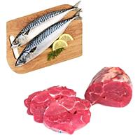 Combo 45: 1kg Cá saba Nhật + 1kg Bắp bò Úc