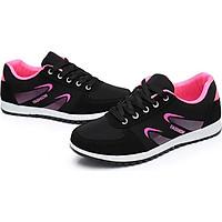 Giày nữ, giày thể thao nữ đen hồng Tizinis B06