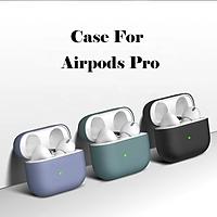 Case Trơn, Vỏ Đựng Bảo Vệ Dành Cho Tai Nghe Không Dây Bluetooth Air Pro - Ốp Silicon Dẻo Chống Va Đập, Nhiều Màu