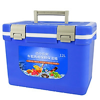 Car incubator refrigerated box home picnic barbecue fishing hot and cold portable dual-use storage box (buy one get ten) upgr