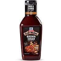 Sốt Ướp BBQ Vị Tanguy Brown Sugar McCormick Grill Mates 500g  - 3465232