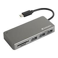 Đầu đọc thẻ Verbatim USB C 3.1 - Hàng chính hãng