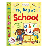 My First Day At School Activity And Sticker Book