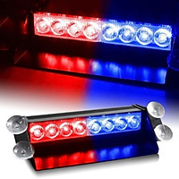 Đèn Led cảnh báo nhấp nháy xanh đỏ cho ô tô
