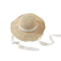 Mũ cói mềm dây ren buộc cổ - nón cói vành to chống nắng, đi biển phong cách