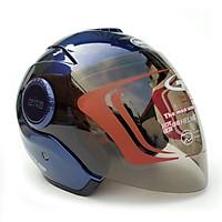 Mũ bảo hiểm 3/4 GRS A649K - dành cho người có vòng đầu lớn